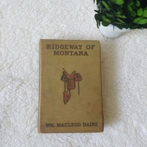 Other - Ridgeway of Montana by Macleod Rains book